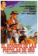 El hombre de las pistolas de oro. Edward Dmytryk, 1959